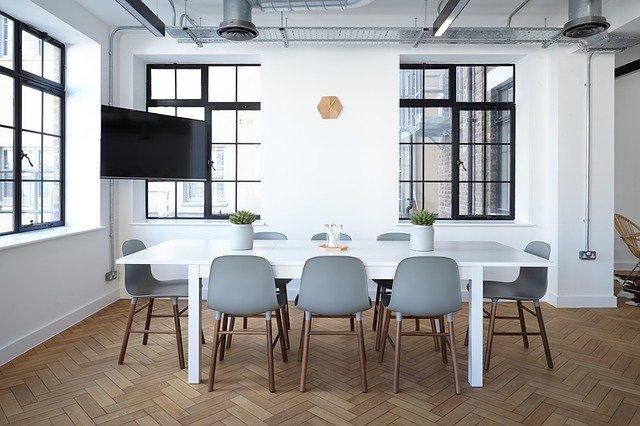 Renovatie-ideeën voor een modern kantoor
