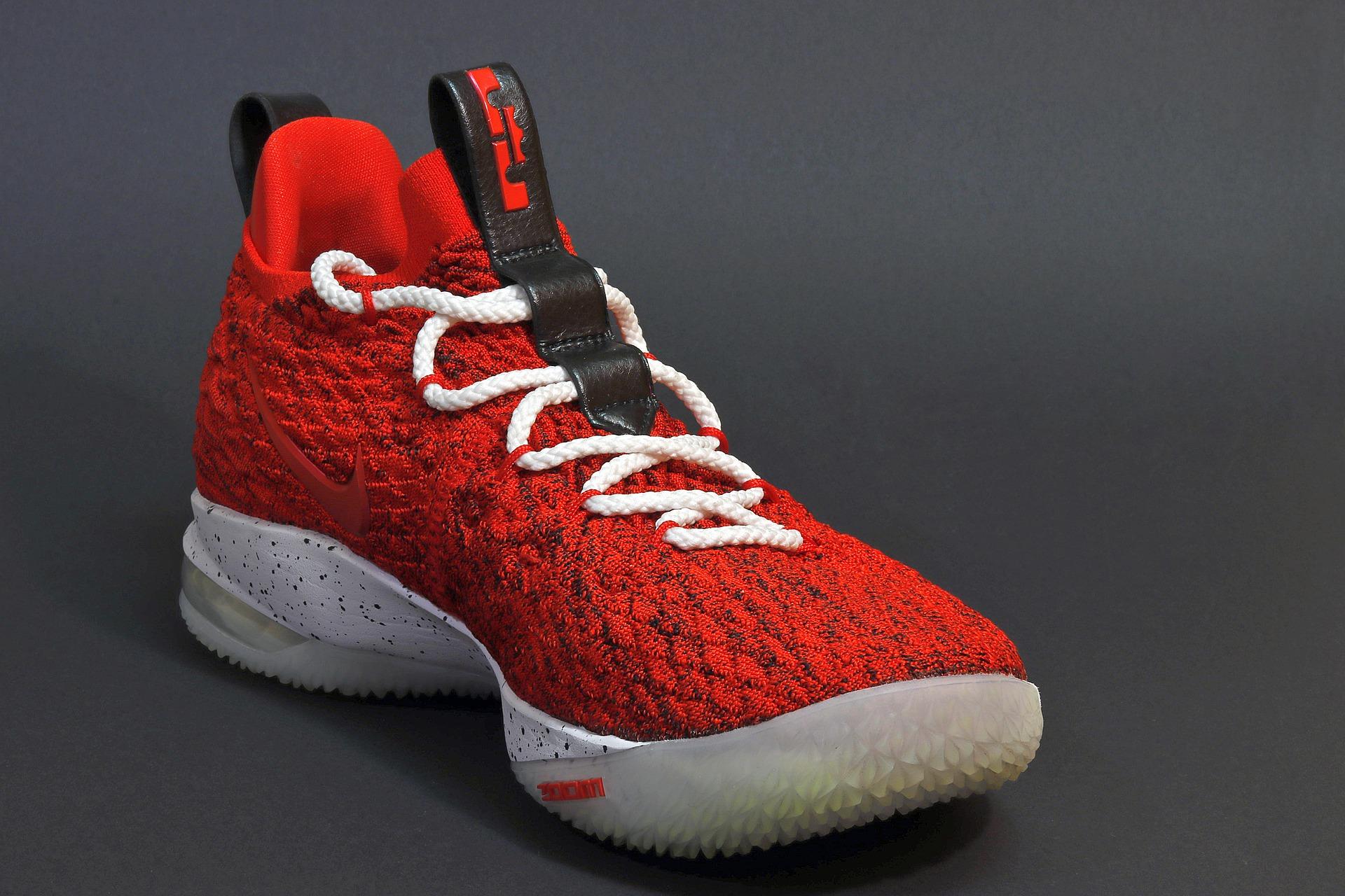 De basketbalschoenen Revolutie