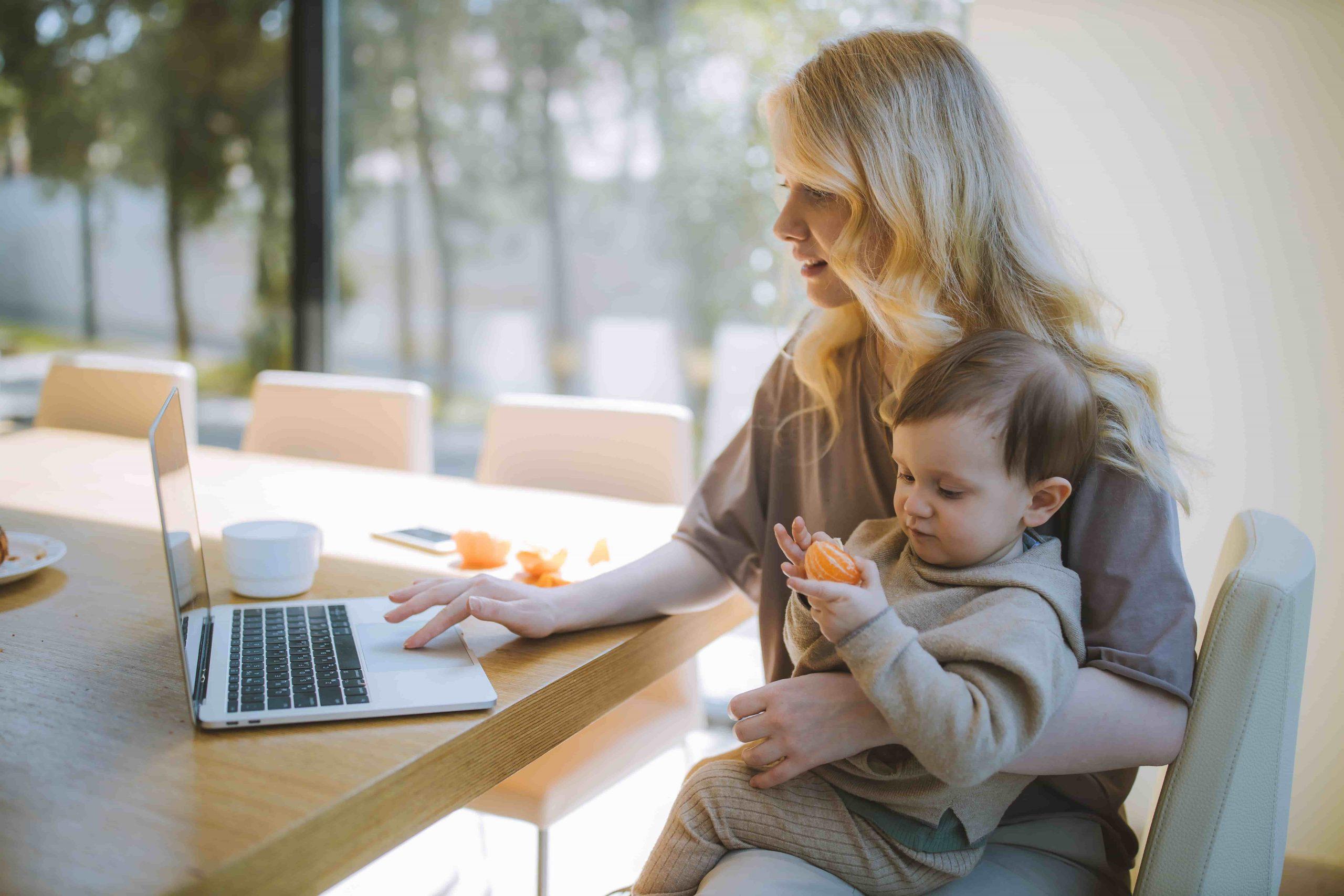 Tips voor ondernemers met een baby