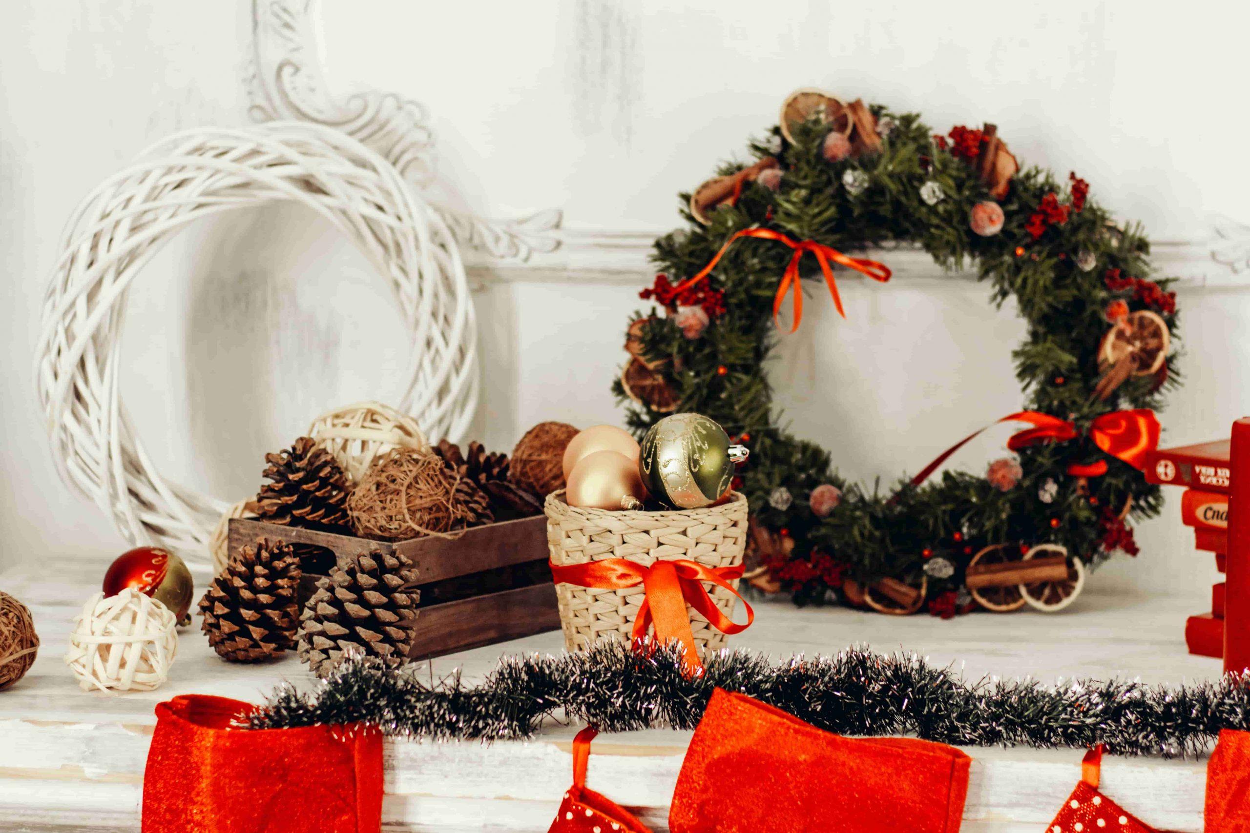 Kerstdecoratie voor een gezellige sfeer